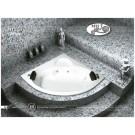 אמבטיה פינתית דגם 130X130 MTI-57