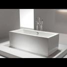 אמבטיה פרי סטנדינג לבן QUBE