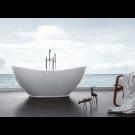 אמבטיה פרי סטנדינג לבן HAPPY
