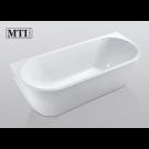 אמבטיה פרי סטנדינג לבן MTI-412