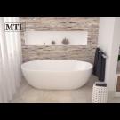 אמבטיה פרי סטנדינג לבן MTI-415