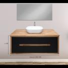 """ארון אמבטיה תלוי אפוקסי קפיטולינה 60 ס""""מ"""