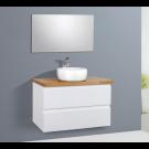 ארון אמבטיה תלוי אפוקסי מגירות דגם דאלי 100 ס''מ