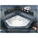 אמבטיה פינתית דגם 140X140 MTI-33