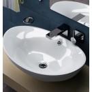 Sebach כיור לאמבטיה חרס מונח דריה - רוחב 59 ס''מ | עומק 38 ס''מ