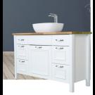 ארון אמבטיה עומד אפוקסי דגם ענתיק Russi 120