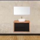 """ארון אמבטיה תלוי אפוקסי קורן 150 ס""""מ"""