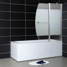 אמבטיון קבוע ודלת דגם סיטי 120 ס''מ