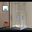 מבצע למלאי מוגבל! מקלחון 8 מ''מ פינתי נפתח דגם פלוטו מרובע 88210