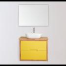 """ארון אמבטיה תלוי אפוקסי האזאל 60 ס""""מ"""