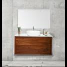 """ארון אמבטיה תלוי אפוקסי סאנדריה 110 ס""""מ"""