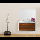 """ארון אמבטיה תלוי אפוקסי פאנו 90 ס""""מ"""