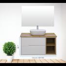 """ארון אמבטיה תלוי אפוקסי חול 160 ס""""מ"""