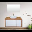 """ארון אמבטיה תלוי אפוקסי תפארת 150 ס""""מ"""