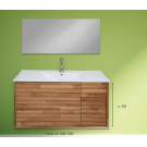 """ארון אמבטיה תלוי אפוקסי קליין 150 ס""""מ"""