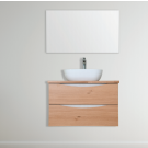 """ארון אמבטיה תלוי אפוקסי מיראל 60 ס""""מ"""