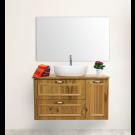 """ארון אמבטיה תלוי אפוקסי נאופלי 140 ס""""מ"""