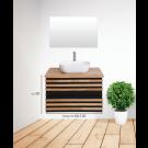 ארון אמבטיה עומד אפוקסי לבונה