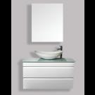 """ארון אמבטיה תלוי אפוקסי ספורה 120 ס""""מ."""