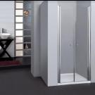 מקלחון חזיתי סטנדרט, 2 דלתות 125-130 ס''מ