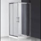 מקלחון פינתי מרובע הזזה 80X70 מידה מיוחדת