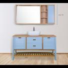 """ארון אמבטיה עומד ענתיק אפוקסי ג'ורג'יה 160 ס""""מ"""