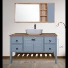 """ארון אמבטיה עומד ענתיק אפוקסי דבורה 120 ס""""מ"""