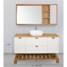 ארון אמבטיה עומד אפוקסי פלאו 120