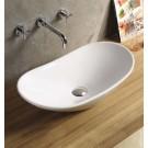 Sebach כיור לאמבטיה חרס מונח אדל - רוחב 62 ס''מ | עומק 34 ס''מ