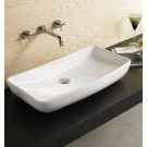 Sebach כיור לאמבטיה חרס מונח גיל- רוחב 60 ס''מ   עומק 39 ס''מ