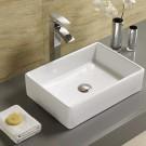 """Sebach כיור לאמבטיה חרס מונח שון רוחב- 47 ס""""מ עומק 37 ס""""מ"""