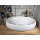 כיור לאמבטיה חרס מונח גולן - רוחב 58.5 ס''מ | עומק 40 ס''מ