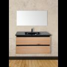 ארון אמבטיה עץ תלוי סילין