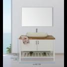"""ארון אמבטיה עומד אפוקסי וירודה 60 ס""""מ"""