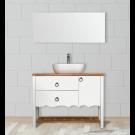 """ארון אמבטיה עומד אפוקסי לומא 130 ס""""מ"""