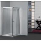 מקלחון פינתי מרובע הזזה 70X70 מידה מיוחדת SELAQUA RECITAL
