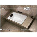 אמבטיה מלבנית דגם 120X70 MTI-01