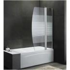לירן- אמבטיון קבוע ודלת 120 ס''מ דגם 939 ציר סאטן