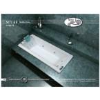 אמבטיה מלבנית דגם 170X75 MTI-69