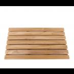 משטח עץ TEAK מלבני 61 ס״מ עם 7 שלבים