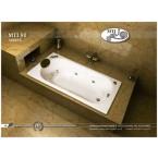 אמבטיה מלבנית דגם 160X75 MTI-90