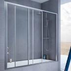 SELAQUA- אמבטיון חזית הזזה זכוכית מחוסמת 20A3