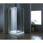 מקלחון הזזה פינתי דגם 411