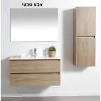 ארון אמבטיה תלוי 60 ס''מ דגם אופק